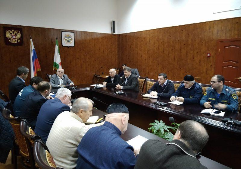 В администрации района прошло заседание комиссии по чрезвычайным ситуациям