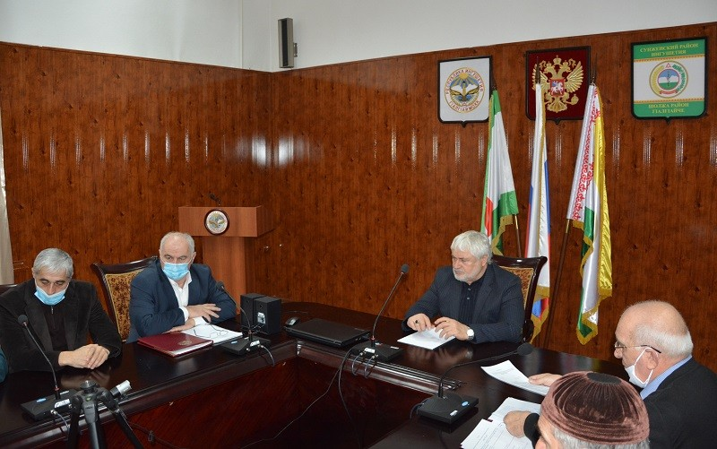 В администрации Сунженского района подвели итоги работы антитеррористической комиссии