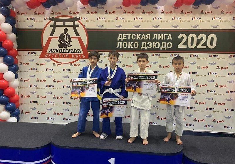 Юный дзюдоист из Сунженского района взял «золото» на открытом турнире «Детская лига Локо дзюдо»