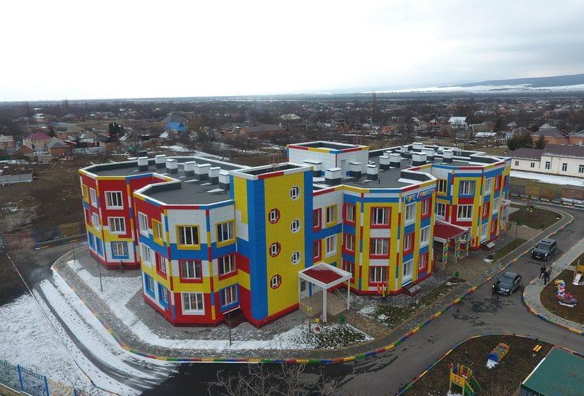В с.п. Троицкое открылся детский сад на 220 мест