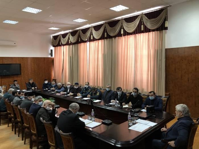 Обеспечение безопасности на памятных мероприятиях обсудили на заседании антитеррористической комиссии Сунженского района