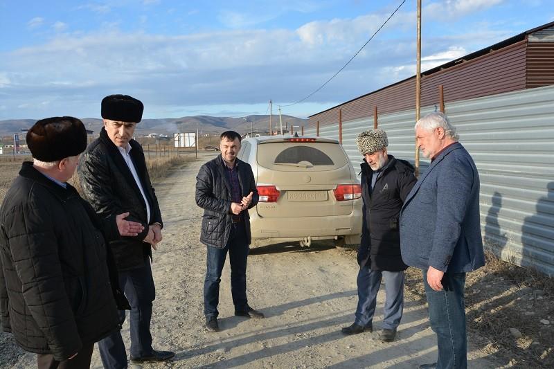 Магомет Дзейтов провел рейд по соблюдению земельного законодательства
