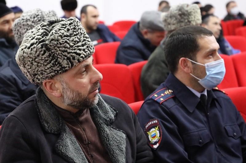 В Сунженском районе полицейские и общественники обсудили вопросы противодействия правонарушениям