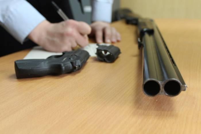 Жителей района призывают сдать незаконно хранящееся оружие