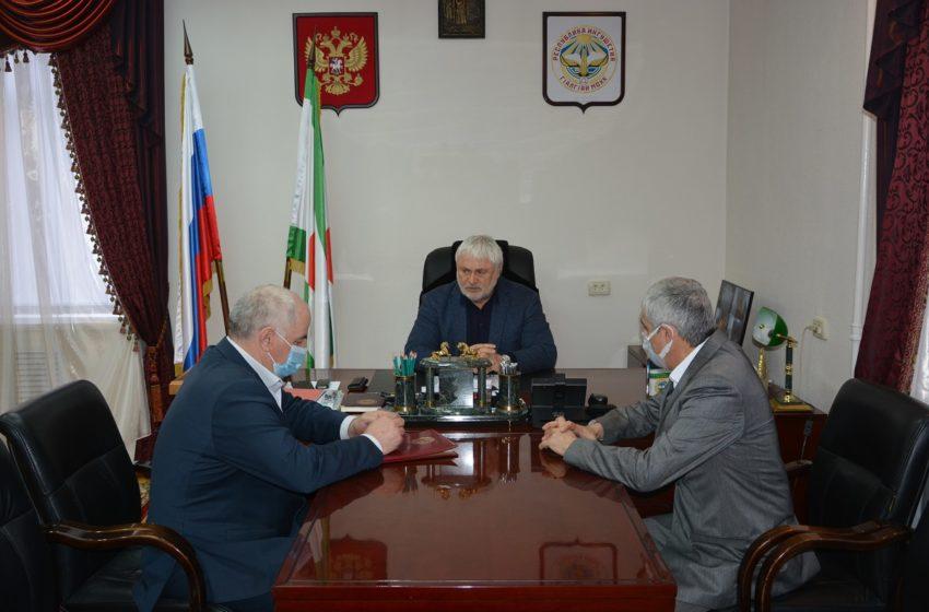 Плановое совещание состоялось в администрации Сунженского района