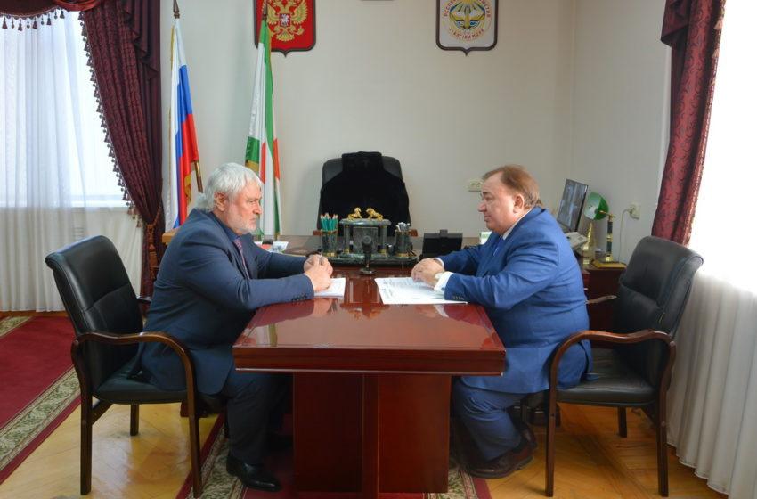 Махмуд-Али Калиматов обсудил с Магометом Дзейтовым перспективы развития Сунженского района