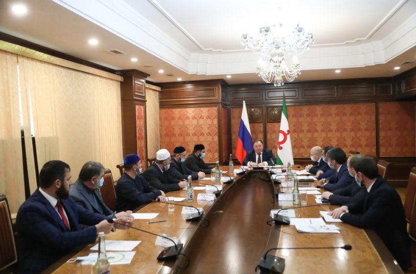 Глава Ингушетии призвал представителей власти, общественности и религиозных деятелей к консолидации в борьбе с наркоманией