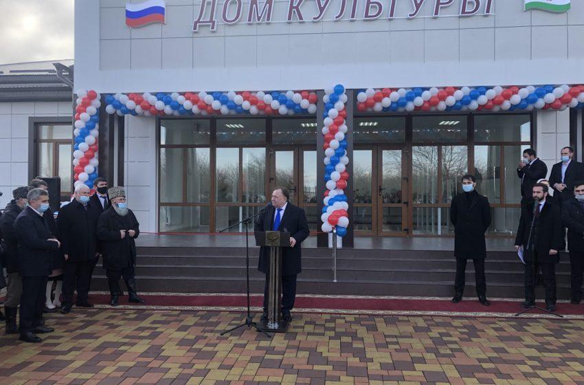 В сельском поселении Нестеровское торжественно открыли новый Дом культуры