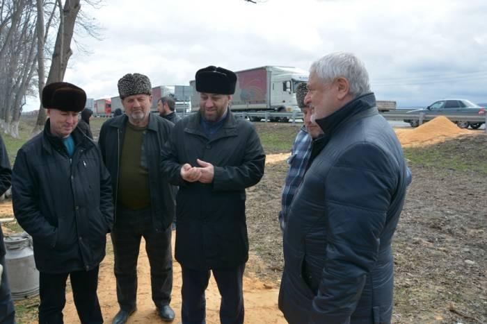 Магомет Дзейтов лично удостоверился в качестве оказания помощи дальнобойщикам
