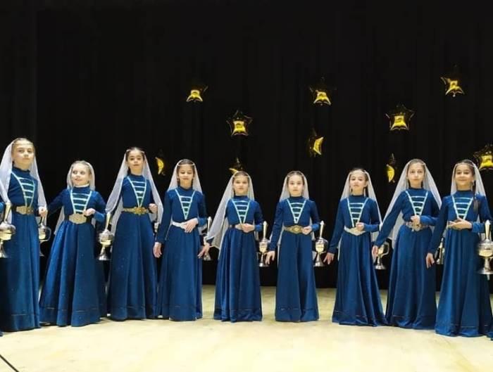 Детский ансамбль «Эзди» из Сунженского РДК стал лауреатом Международного конкурса искусств «Ритм вдохновения»