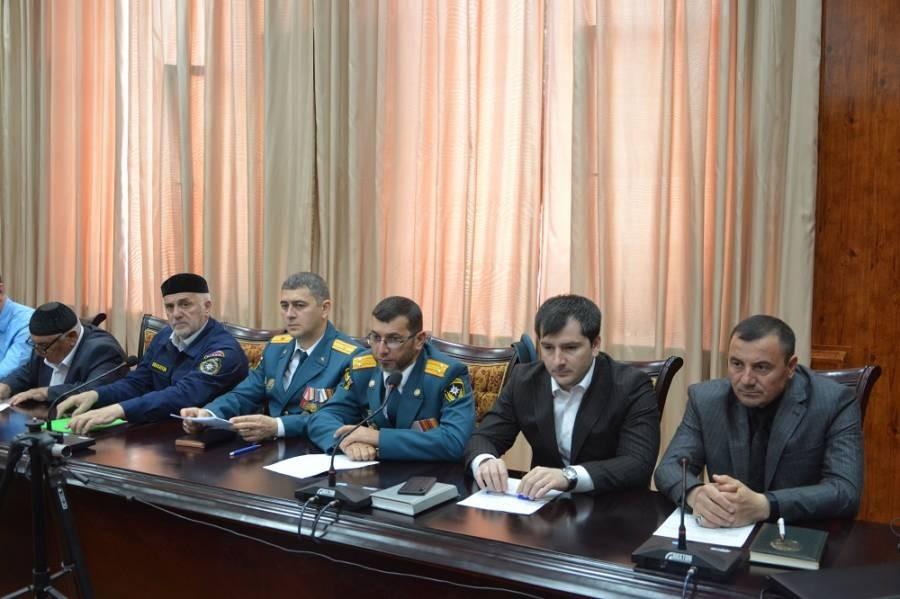 Плановое заседание АТК прошло в администрации Сунженского района