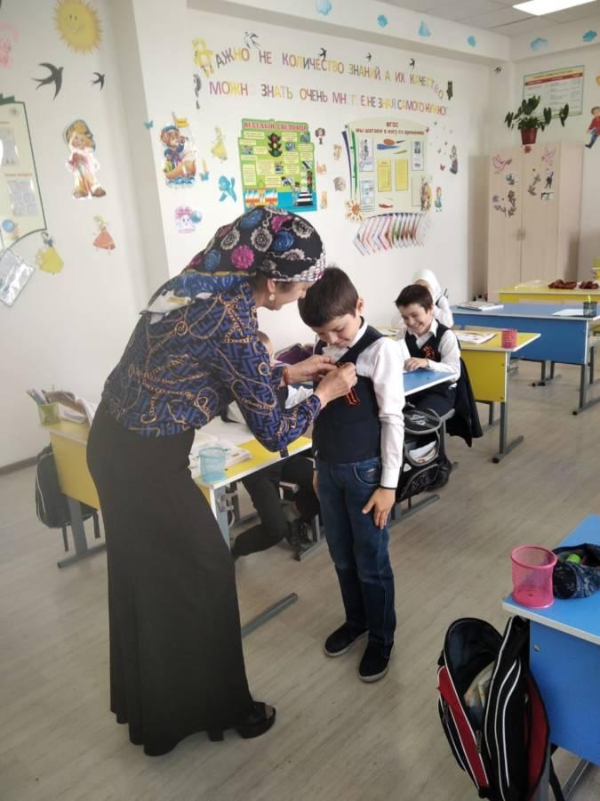 Акция «Георгиевская ленточка» стартовала в Сунженском районе