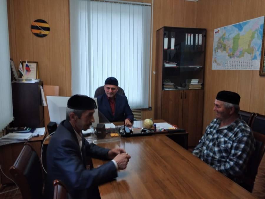 В сельских поселениях Сунженского района состоялись приемы граждан ко Дню местного самоуправления