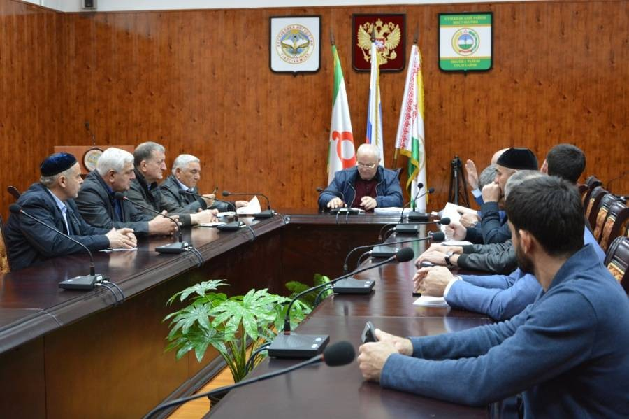В Сунженском районе проходит командно-штабное учение