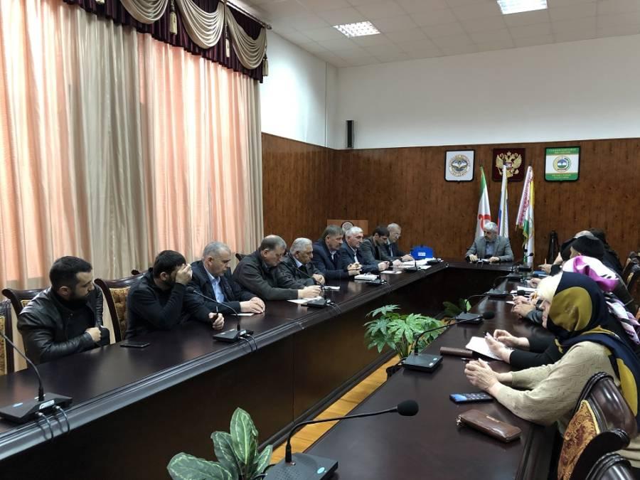 Семинар-совещание с представителями Совета по межнациональным и межконфессиональным отношениям прошел в администрации Сунженского района