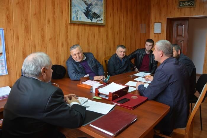 Вопросы антитеррористической защищенности спортивных учреждений обсудили в администрации Сунженского района