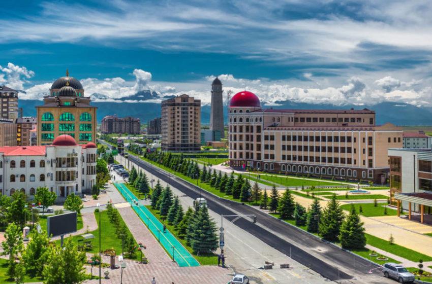 Поздравление Главы Сунженского района с днем города Магас!
