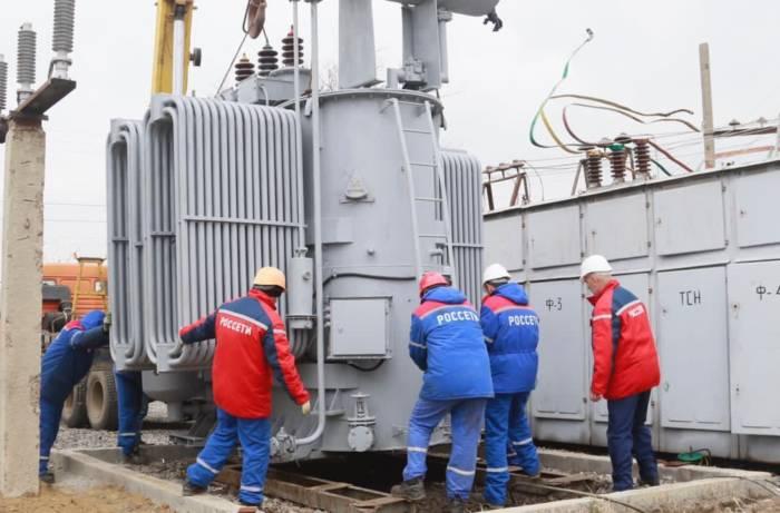 В Сунженском районе установлен новый силовой трансформатор