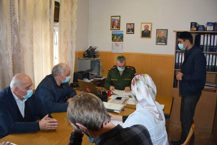Первое весеннее заседание призывной комиссии Сунженского района