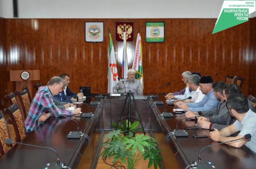 Организацию и проведение предварительного голосования обсудили в Сунженском районе