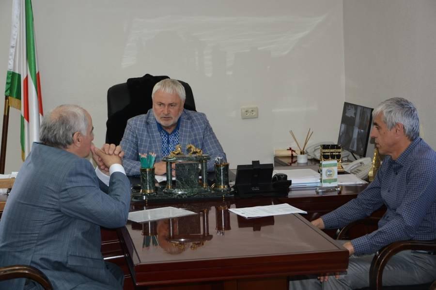 Еженедельное плановое совещание в администрации Сунженского района