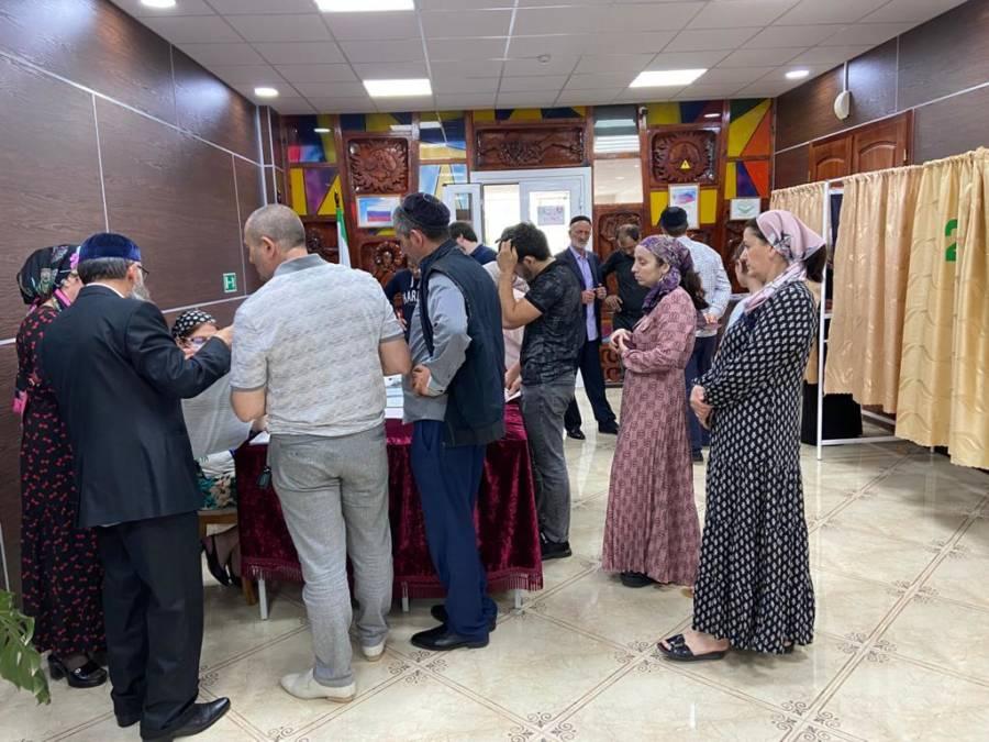 В Сунженском районе проходит предварительное голосование Всероссийской политической партии «Единая Россия»
