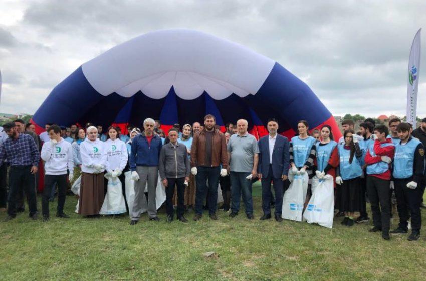 Масштабно и организованно прошла республиканская акция по уборке берегов рек в Сунженском районе