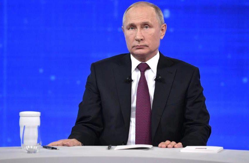 Считанные часы остаются до «Прямой линии» с Владимиром Путиным Она стартует ровно в полдень