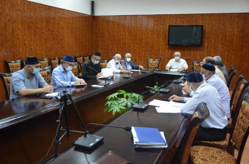 Совещание с главами сельских поселений прошло в администрации Сунженского района