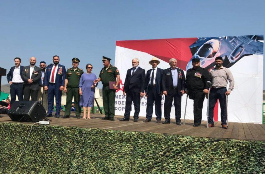 Сегодня состоялось торжественное открытие Международного Военно-технического форума «АРМИЯ-2021» в Троицком военном гарнизоне