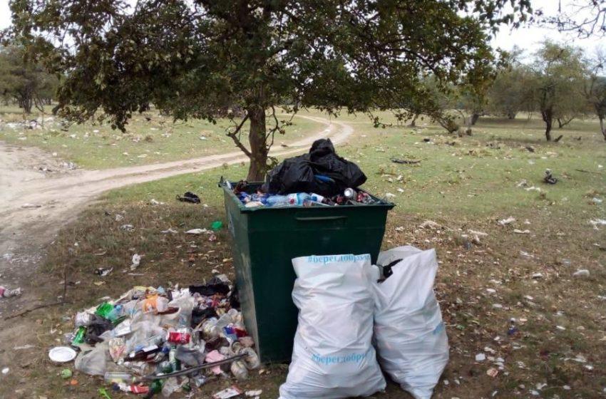 Сегодня утром в сети «инстаграм» поступила жалоба о скоплении мусора возле ранее установленного мусорного контейнера вблизи реки Асса сельского поселения Нестеровское.