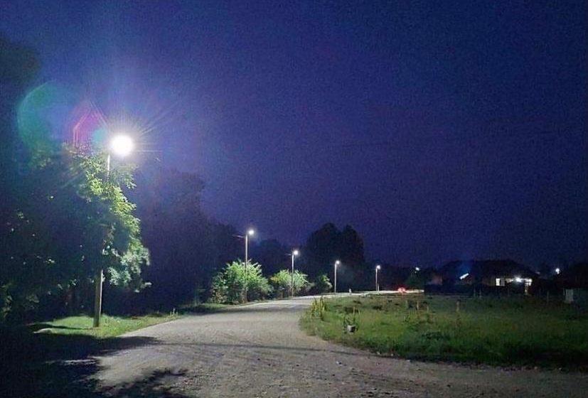 Тема отсутствия уличного освещения в сельском поселении Берд-Юрт