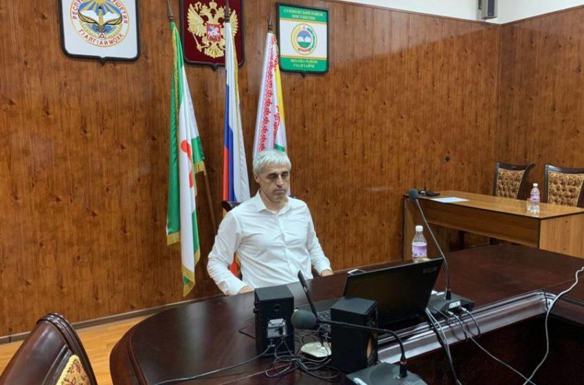 Заместитель главы администрации Сунженского района Б.В. Цечоев принял участие в онлайн-конференции