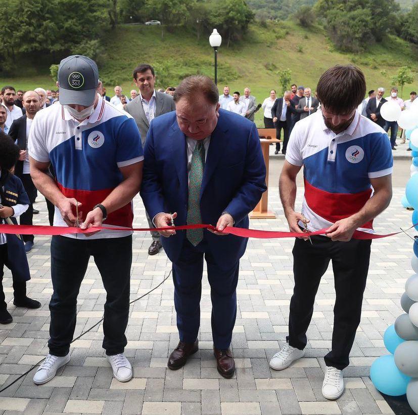 В сельском поселении Мужичи Сунженского района Ингушетии состоялось долгожданное открытие комплекса спортивной подготовки «Мужичи»