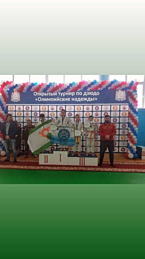 Юные воспитанники ФОК сельского поселения Троицкое заняли призовые места на открытом турнире по дзюдо «Олимпийские надежды», который проходил в городе Самара.