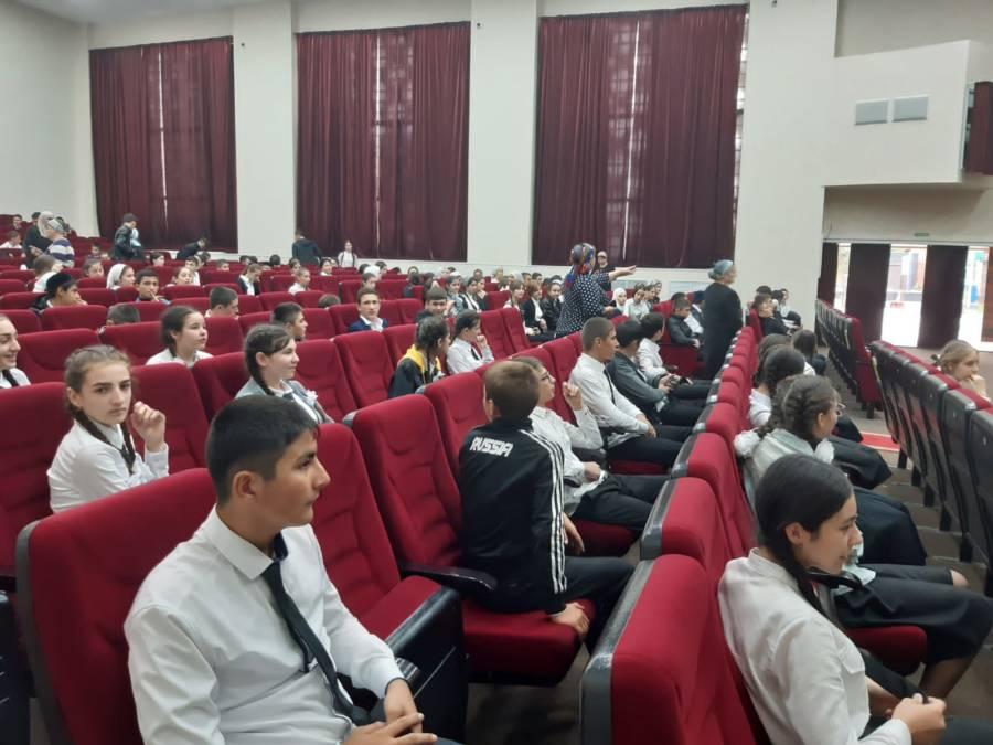 В Доме культуры сельского поселения Нестеровское состоялось мероприятие приуроченное ко дню солидарности в борьбе с терроризмом