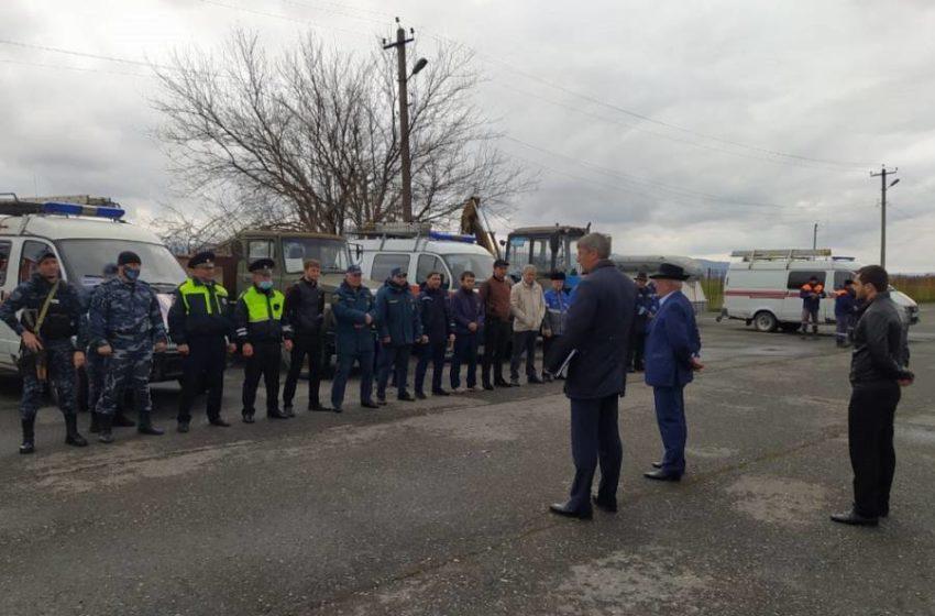 В Сунженском районе прошли штабные тренировки по гражданской обороне.