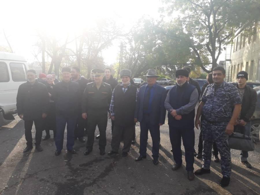 В Сунженском районе прошла первая отправка в войска призывников в рамках осенней призывной кампании