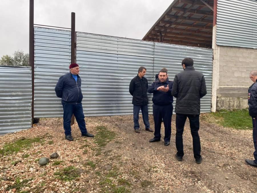 В Сунженском районе прошли рейдовые мероприятия по пилорамам